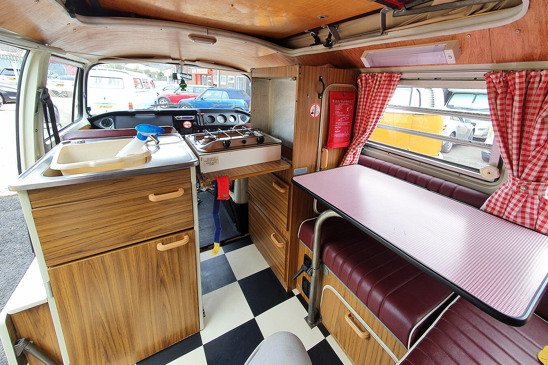 interior vw t2 westphalia ruby