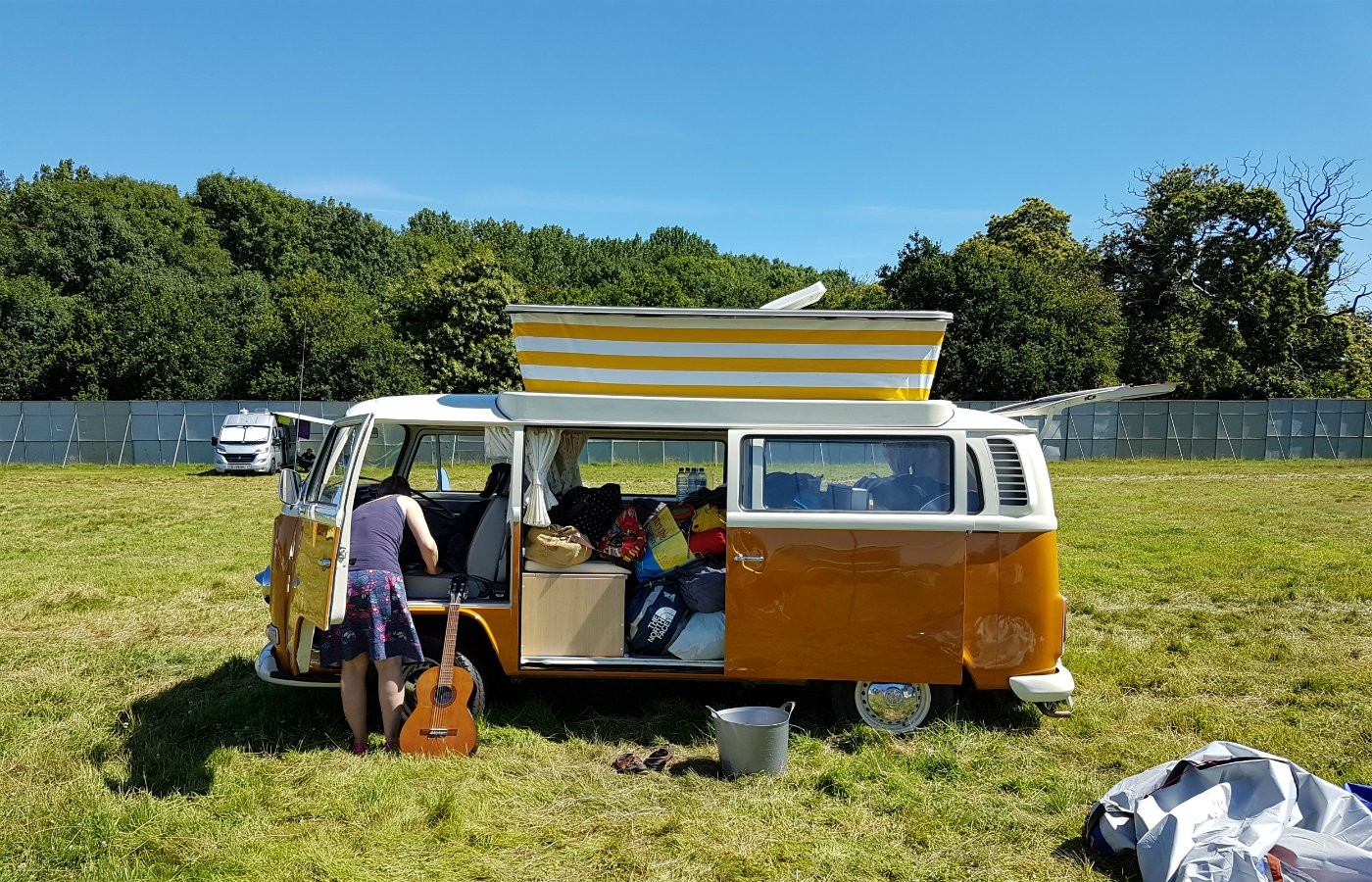 campervan at latitude festival