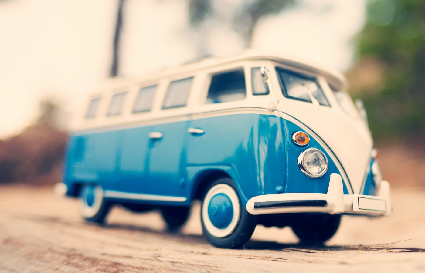 miniature campervan