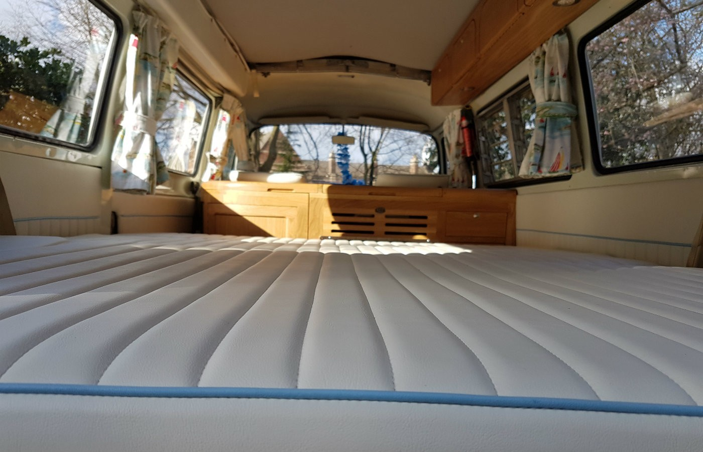 vw campervan bed