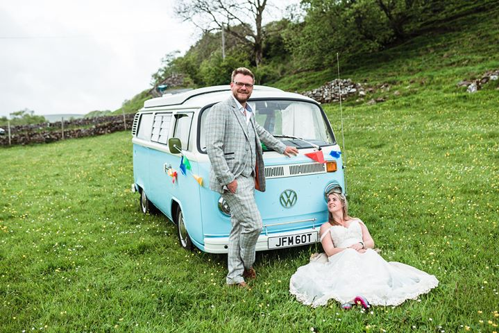 campervan bertie wedding