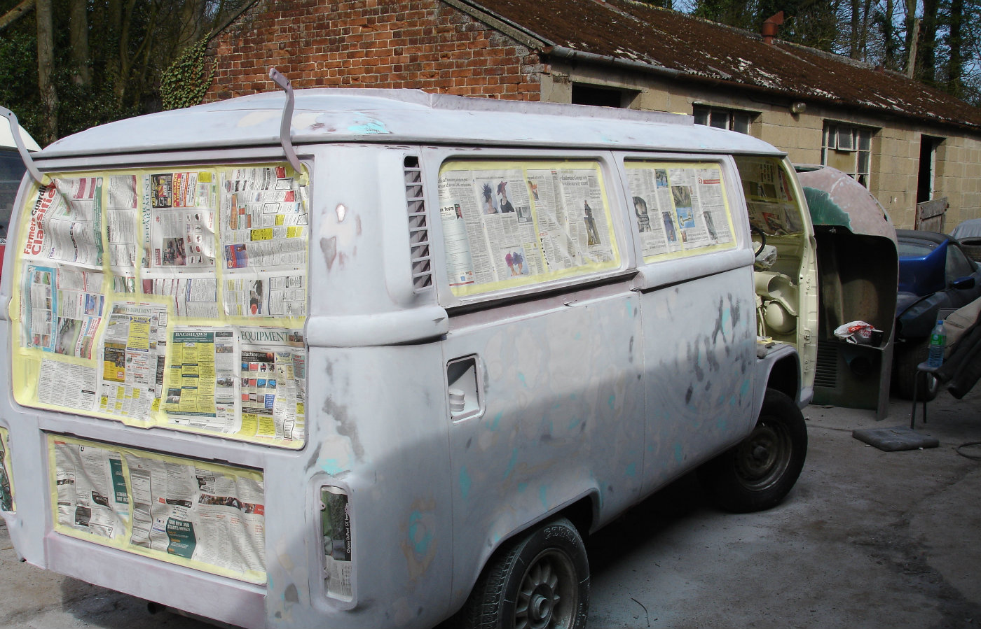 vw campervan restoration