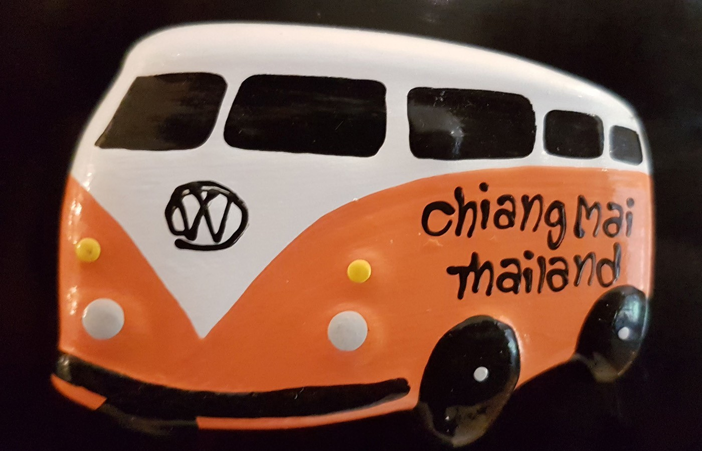vwcampervan fridge magnet