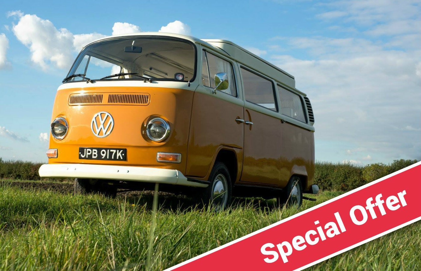 vw campervan special offer