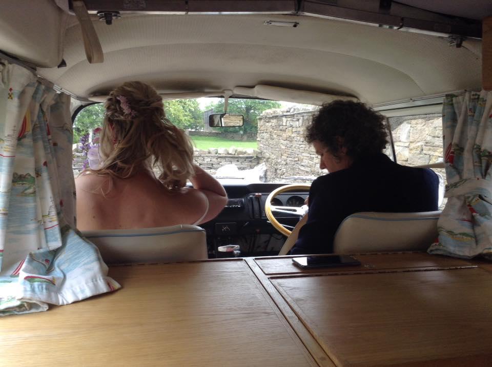 vw campervan wedding review