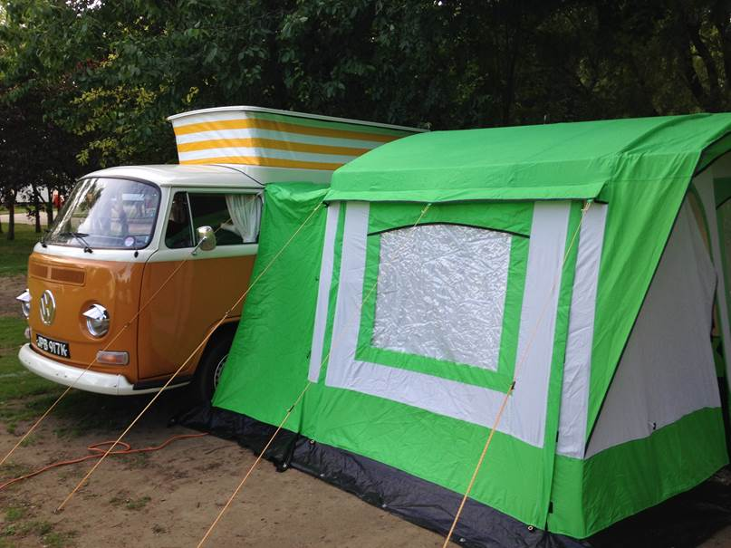vw campervan awning