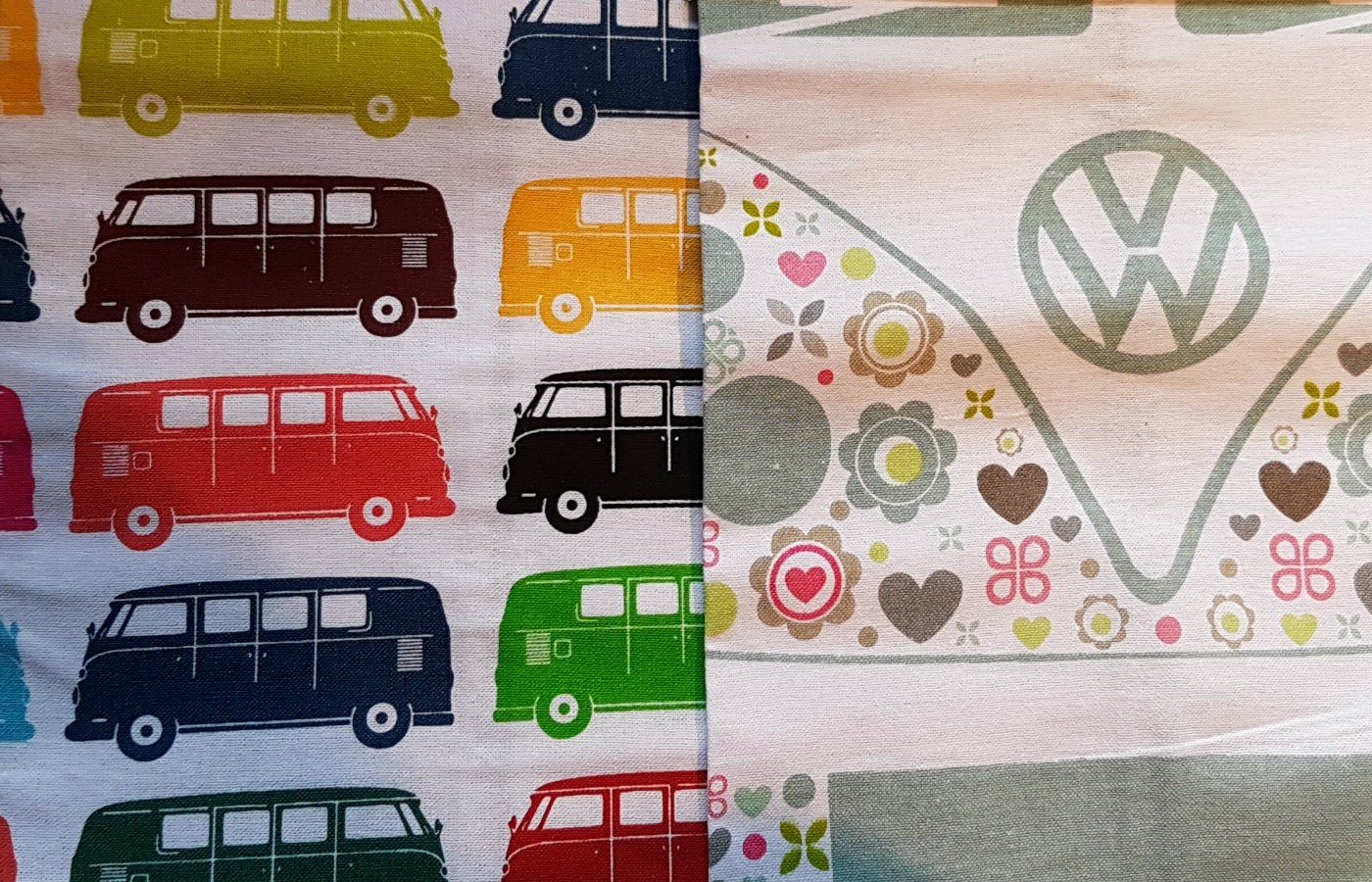 vw campervan tea towels