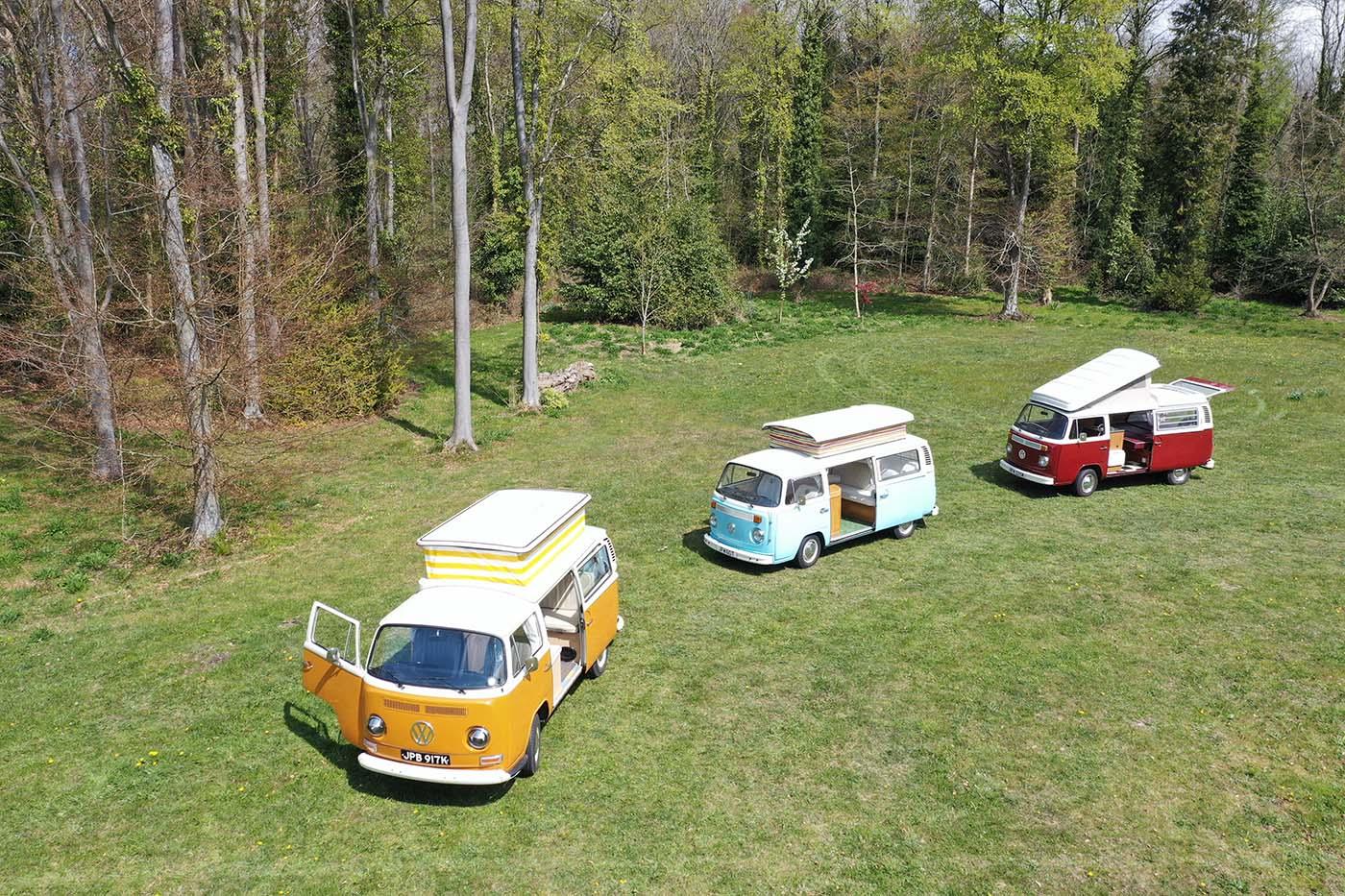 3 vw campervans
