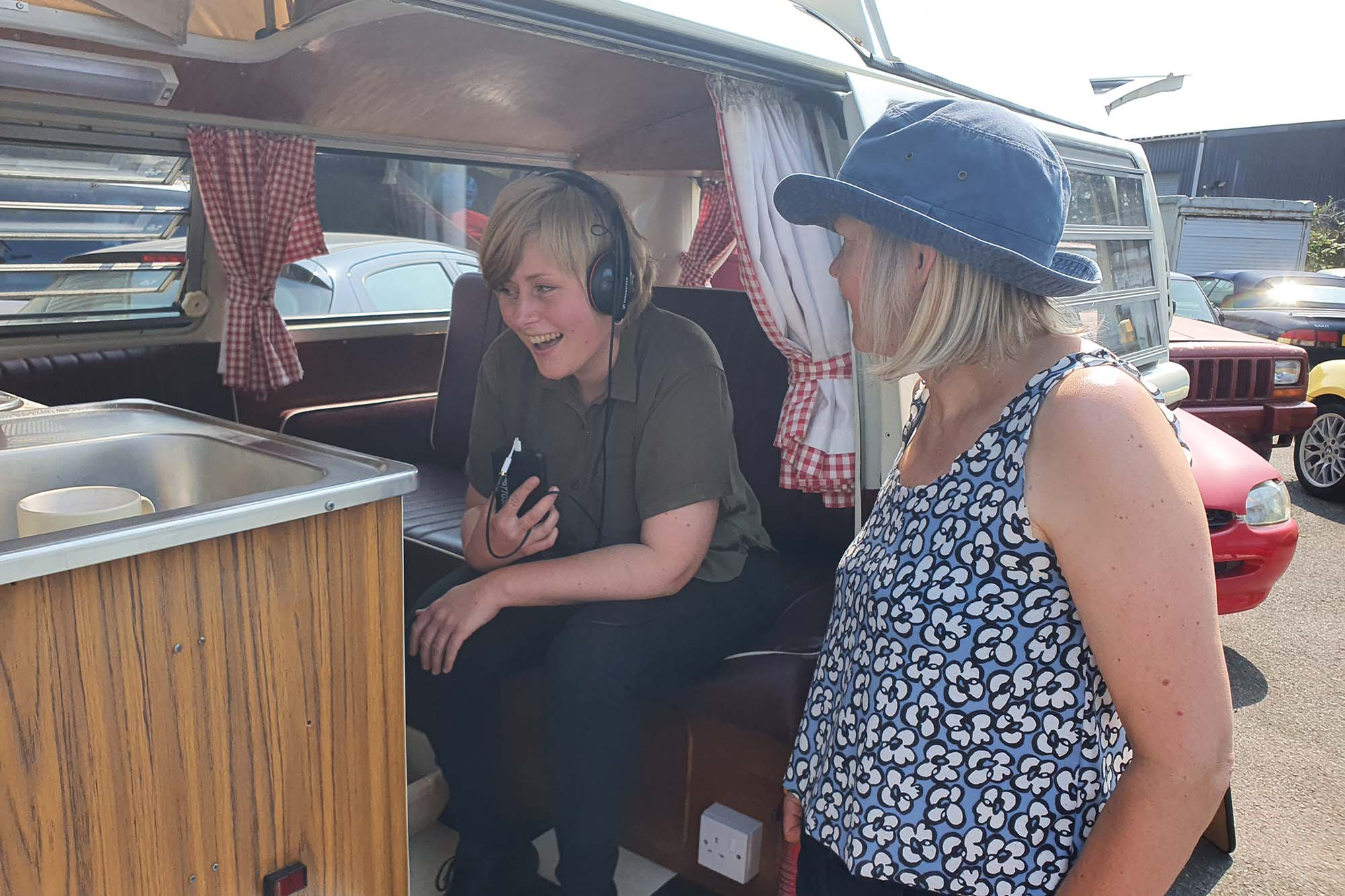 Lizzie Musham from BBC Lincolnshire pays a visit to Anne's Vans
