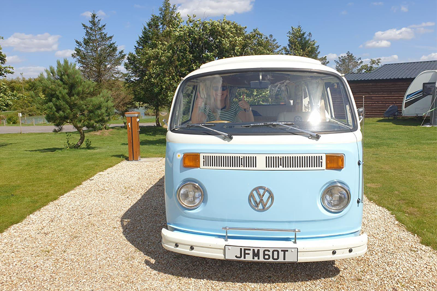 VW Camper-van Potterhanworth Staycation