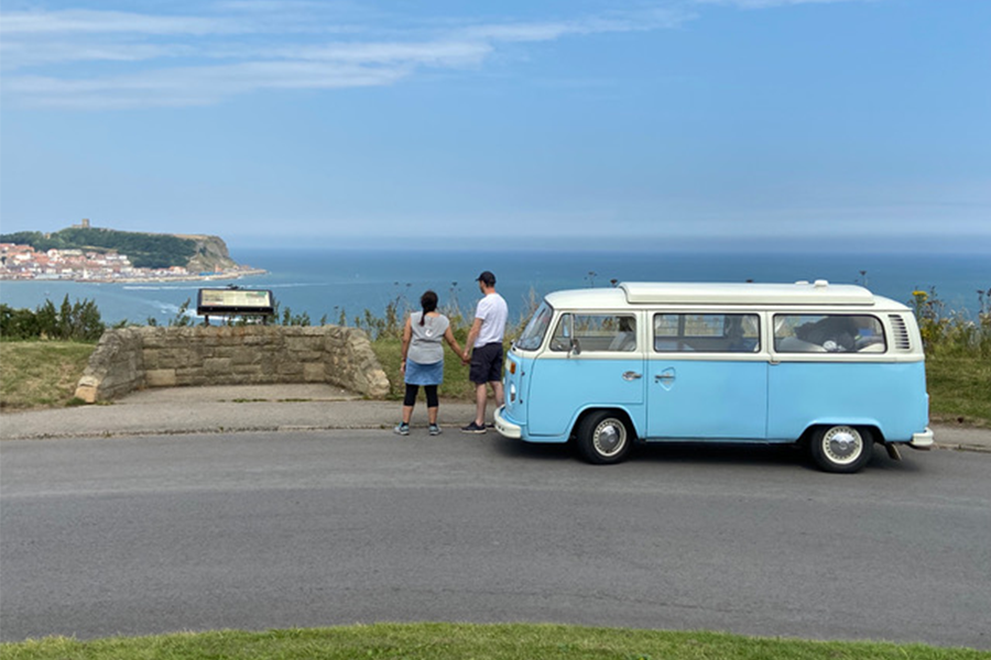 Vintage Camper-van Bertie Explores East Coast