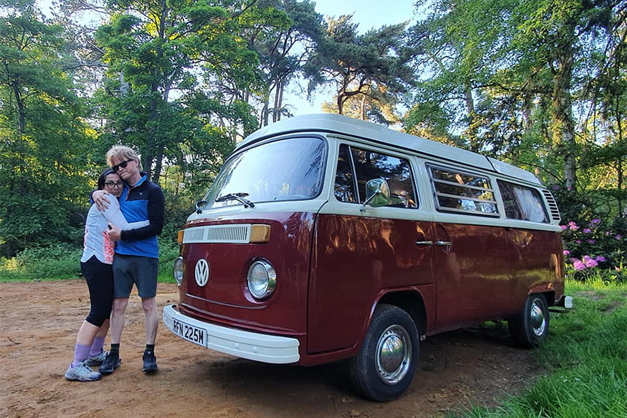 Traveller Experience for Rita and Damo