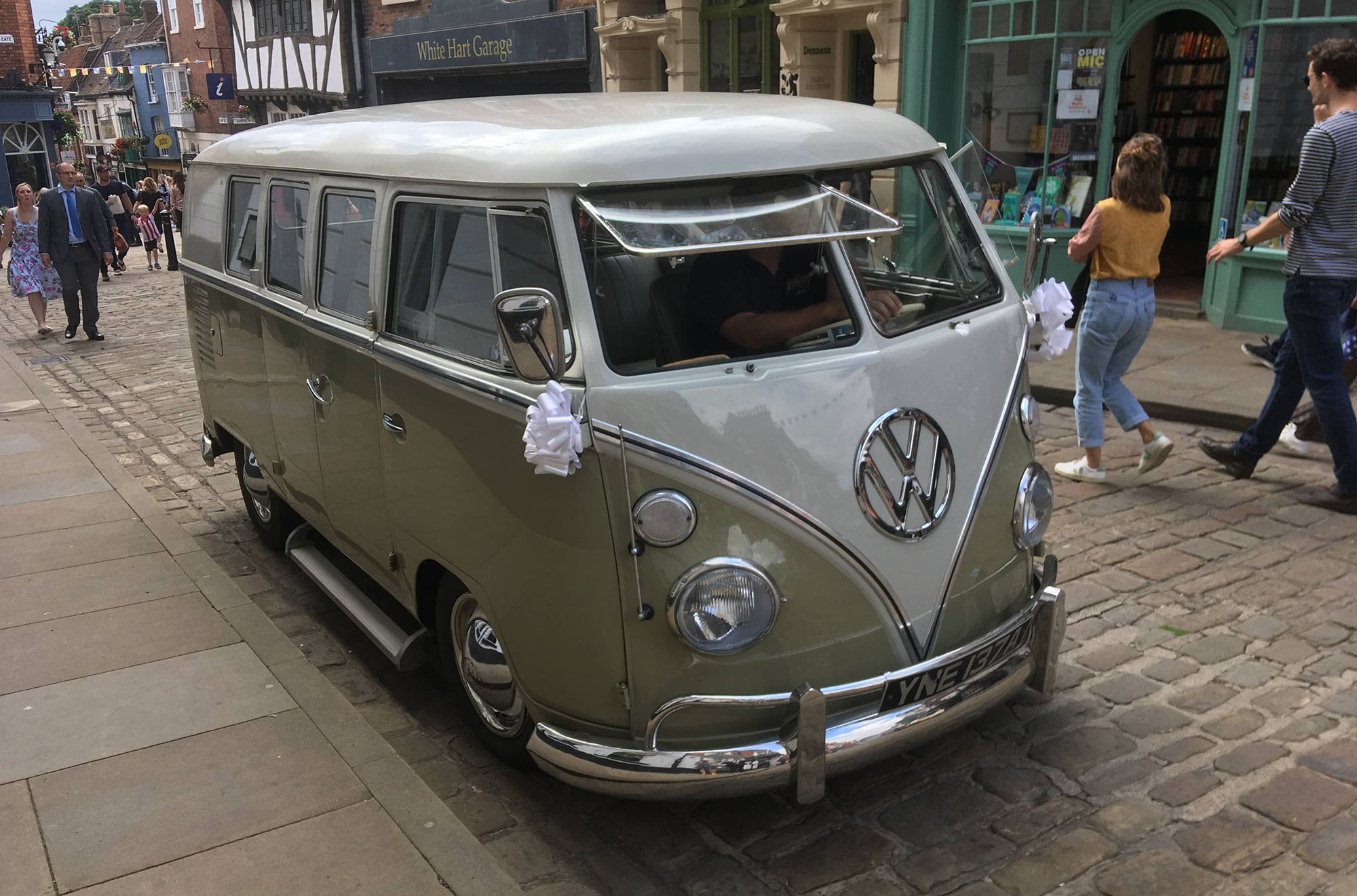 vw splitty spotted in Lincoln
